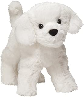 Douglas Cuddle Toys 4078 Dandelion Puff Bichon, 8-Inches(20cm)