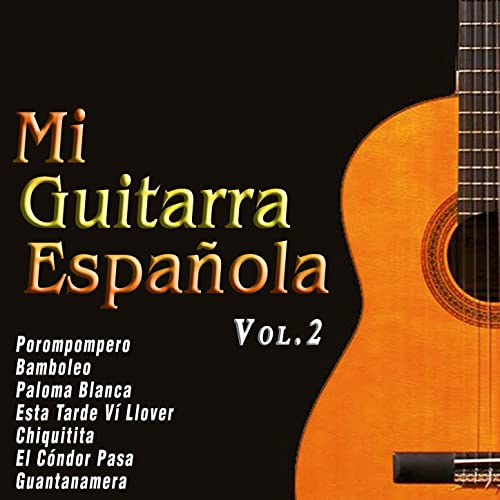 Mi Guitarra Española Vol. 2 by Various artists on Amazon Music ...