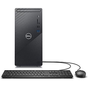 Dell Inspiron Desktop 3880 - Intel Core i5 10th Gen, 12GB Memory, 512GB Solid State Drive, Windows 10 Pro, 2 Year On-Site (Latest Model) - Black