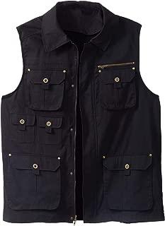 Boulder Creek Men's Big & Tall Multi-Pocket Vest