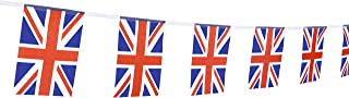 LoveVC British Union Jack Flag, 100 Feet United Kingdom UK Great Britain Flag National Country World Flags Banners,Party Decorations for Grand Opening,Bar,Sports Events,International Festival