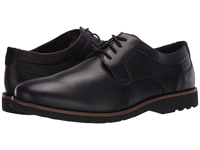 Rockport  Sharp and Ready 2 Plain Toe (Black) Mens Shoes