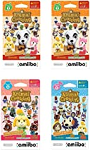 $29 » Nintendo Animal Crossing amiibo Cards Series 2, 2, 3, 4 for Nintendo Wii U and 3DS, 1-Pack (6 Cards/Pack) (Bundle) Includes 24 Cards Total