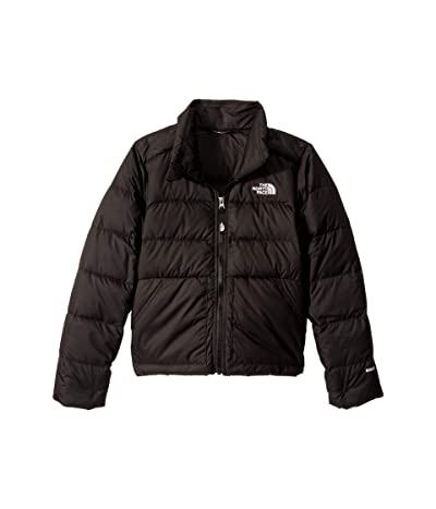 The North Face Kids Andes Down Jacket (Little Kids/Big Kids) (TNF Black) Girl
