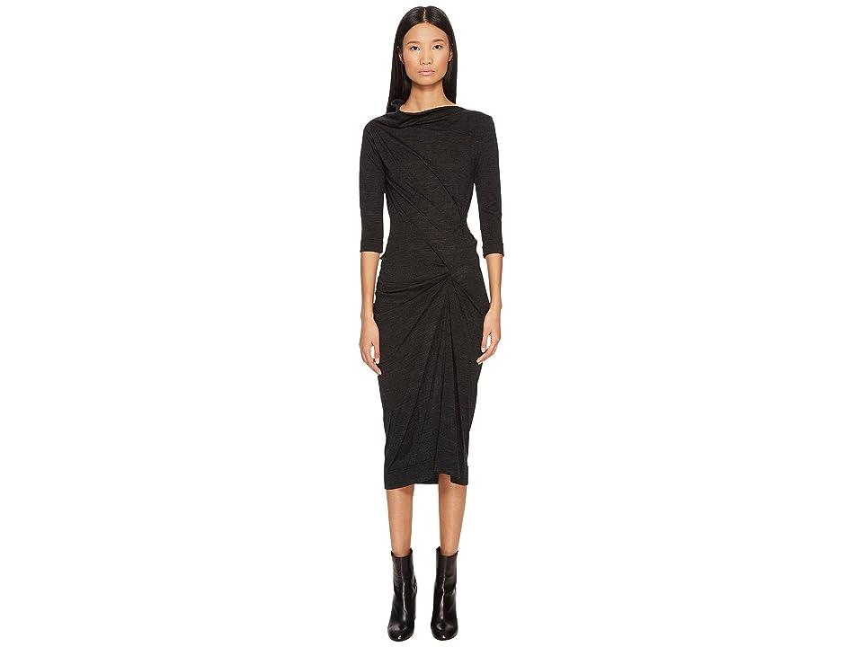 Vivienne Westwood Taxa Jersey Dress (Grey) Women
