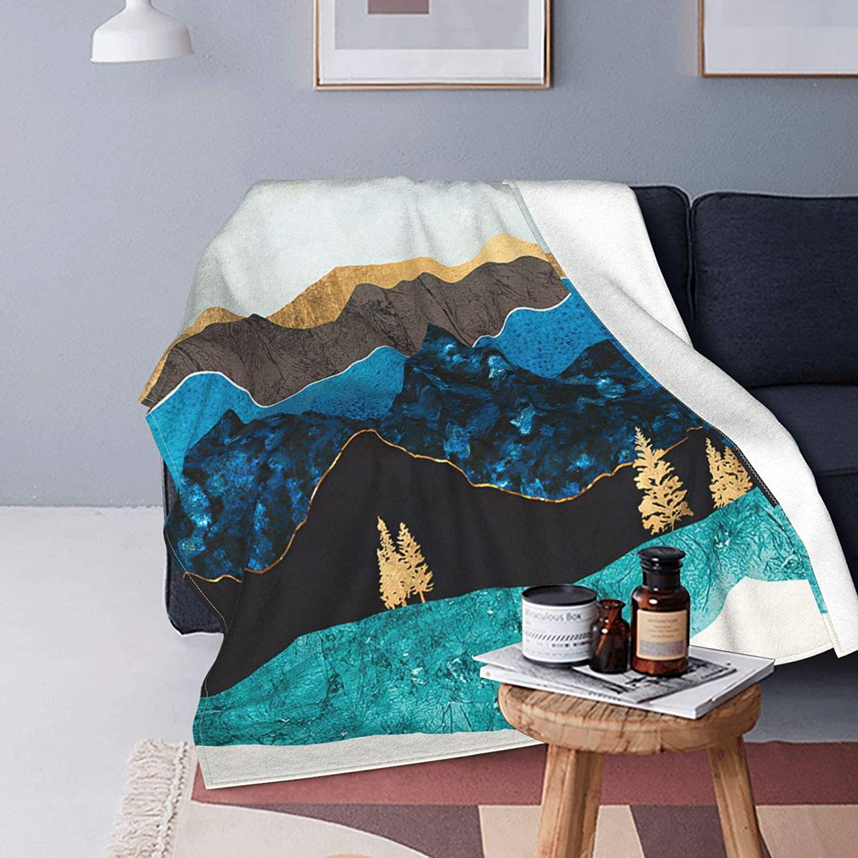 Mountain excellence Forest Tree Sky Finally resale start Microfiber Flannel Blankets Lightweigh