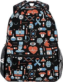 Backpack Enfermera Practicante Ligero Estudiante Elegante Casual Durable Impreso Colegio Único Bolso De Hombro Mochila Regalo De Viaje Mochila Escolar