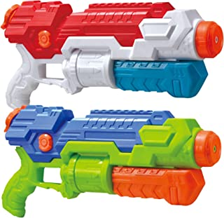JOYIN 2 Pack Super Water Blaster Shoot Up to 36 Feet High Capacity Water Soaker Blaster..