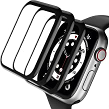 Henva Compatible with Apple Watch SE Series 6/5/4 Screen Protector, Advanced HD Clarity/Case Friendly 99% Touch Accurate/A...