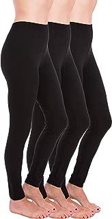 Premium Ultra Soft High Rise Waist Full Length Regular and Plus Size Variety Pack Leggings