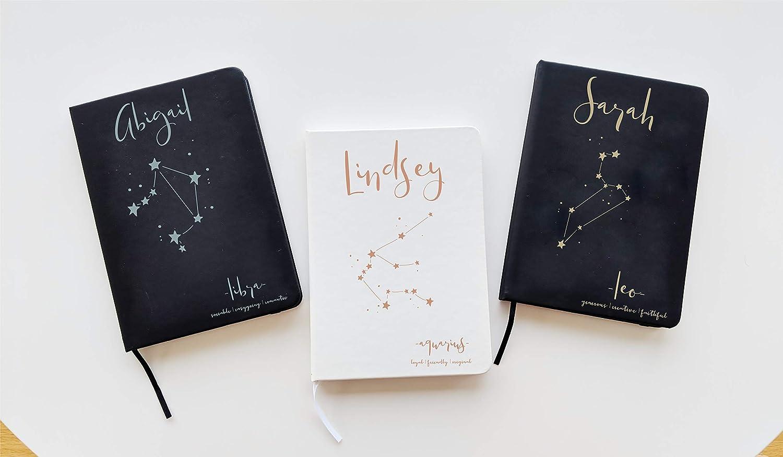 Buy Leo Zodiac Journal Custom Journal Zodiac Birthday Gift Zodiac ...
