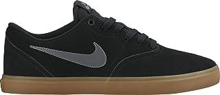 Nike SB Check Solar Skateboarding Shoes For Men Black Size 44 EU
