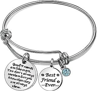 Good Friends Are Like Stars Friendship Bracelets for Women Men Best Friend Ever Bangle Jewelery Gifts