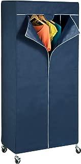 Honey-Can-Do GAR-02198 Garment Rack Cover, Navy Blue