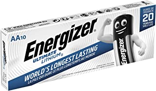 Energizer Ultimate Lithium - Pack de 10 pilas Ultimate Lithium AA