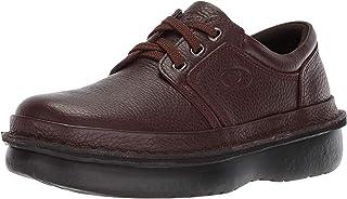 Propét Men's Villager Oxford Walking Shoe, Black Grain, 10.5 XXW US