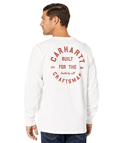 Carhartt Relaxed Fit Heavyweight Long Sleeve Pocket Craftsman Graphic T-Shirt