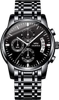 Men's Watch Fashion Luxury Wrist Watches Analog Quartz...