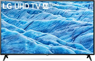LG UHD TV UM7340 Series IPS 4K Display 4K HDR Smart LED TV w/ThinQ AI (43)