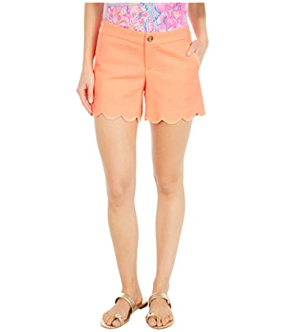 Lilly Pulitzer Buttercup Stretch Shorts (Tangelo) Women