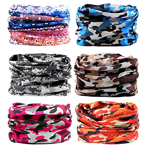 Elastic Multifunctional Headband Sports Seamless Magic Headwear Outdoor Bandana