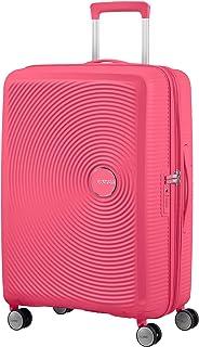 American Tourister Soundbox - Spinner Medium Expandable Valise, 67 cm, 81 Liters, Rose (Hot Pink)