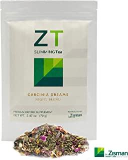 Dr. Zisman ZT Slimming Detox Tea   Garcinia Dreams Night Blend Weight Loss Tea   Reduced Stress And Muscle Tension   Deeper Sleeping Time Enhanced Digestion Process Healthy Rest While Burning Calories
