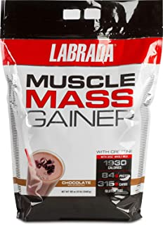 Labrada Nutrition Muscle Mass Gainer Chocolate, 12 lbs.
