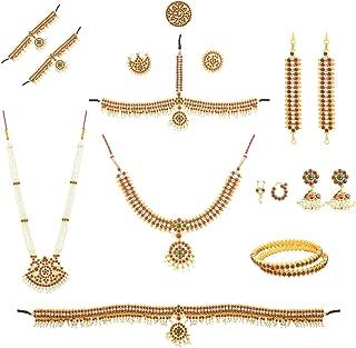 Bharatanatyam and Kuchipudi Full dance Set (10 item's