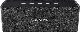Creative Labs Nuno Altavoz portátil estéreo Negro, Gris - Altavoces portátiles (Inalámbrico y alámbrico, Bluetooth/USB/3.5 mm, 2.1+EDR, A2DP,AVRCP,HFP, Altavoz portátil estéreo, Negro, Gris)