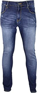 883 Police BUELL Stretch Skinny Fit Mid lavaggio jeans