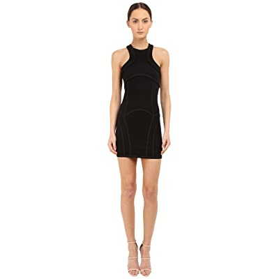DSQUARED2 Compact Viscose Jersey Dress (Black) Women