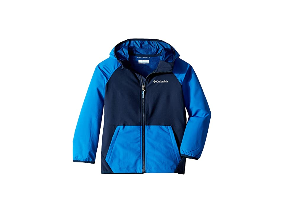Columbia Kids Hidden Canyontm Softshell Jacket (Little Kids/Big Kids) (Super Blue/Collegiate Navy) Boy