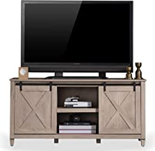 Sekey Home Sliding Barn Door TV Stand | Entertainment Center | TV Console for 58