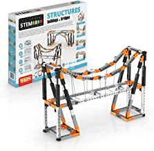 Engino Discovering STEM Structures Constructions & Bridges | 9 Working Models | Illustrated Instruction Manual | Theory & ...