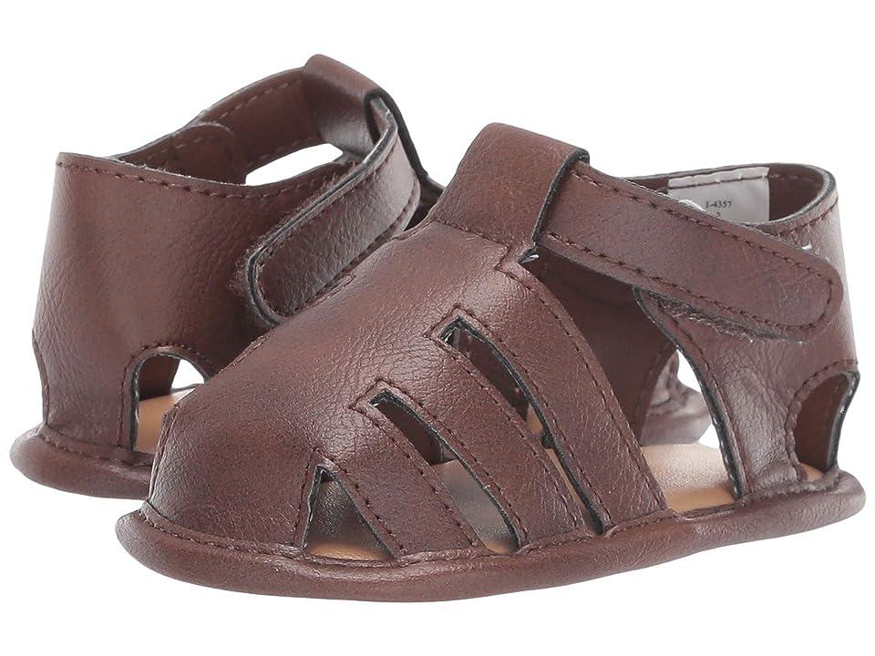 Baby Deer Fisherman Sandal Waddle (Infant) (Brown) Boys Shoes