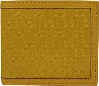 Gucci Men's Bifold Hillary Lux Yellow Diamante Leather Wallet 225826 7011