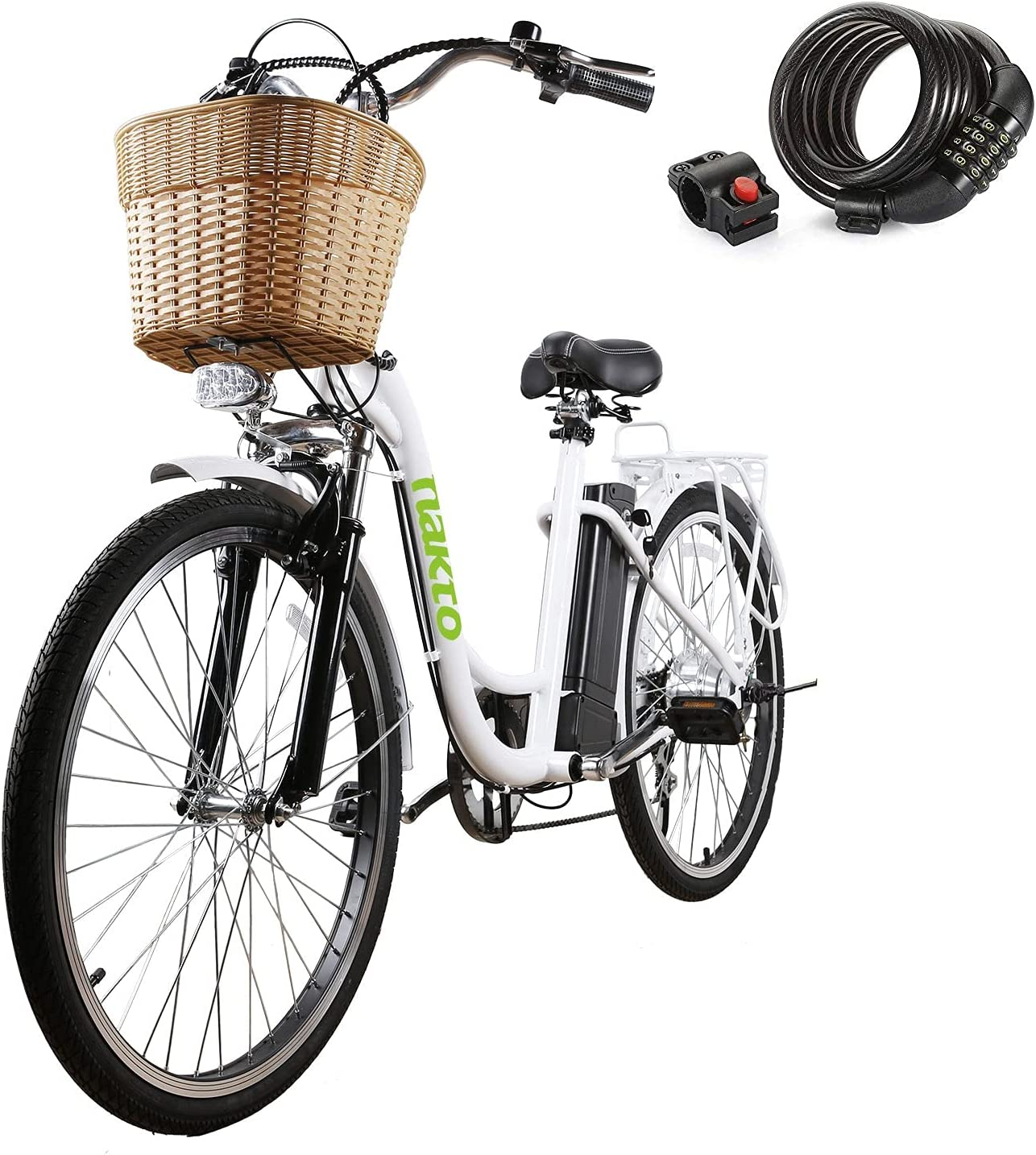 Luxury goods NAKTO Electric Discount mail order Bike for Adults 26