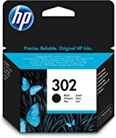 HP 302 F6U66AE Cartuccia Originale, da 190 Pagine, per Stampanti HP DeskJet Serie 1100, 2130, 3630, 5200, HP Envy Serie...