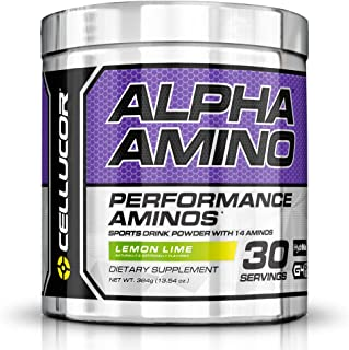 Sponsored Ad - Cellucor Alpha Amino EAA & BCAA Powder | Branched Chain Essential Amino Acids + Electrolytes | Lemon Lime |...