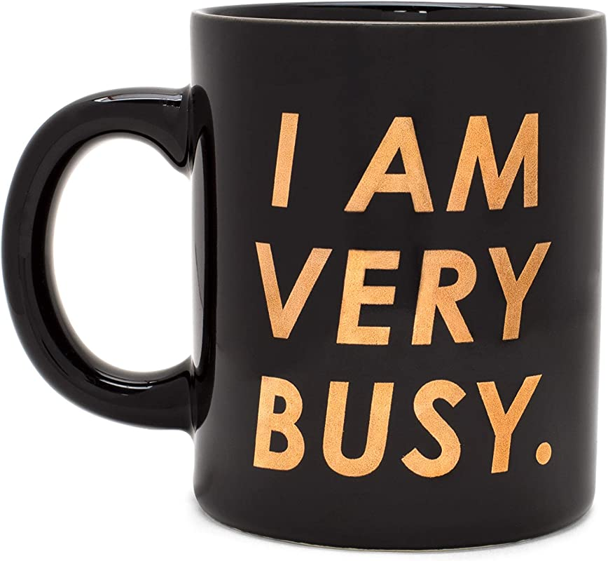 Ban Do Hot Stuff Ceramic Coffee Mug Tea Cup 11 Ounces I Am Very Busy