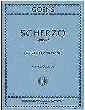 Goens, Daniel van - Scherzo, Op. 12 - Cello and Piano - edited by Pierre Fournier - International