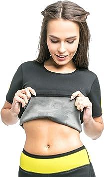 VeoFit Camiseta de Sudoración Adelgazante - Tonifica los Brazos, el Abdomen y Las Caderas para una Piel más Firme y una Silueta estilizada – S-XXXL