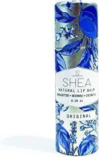 Shea Brand | Natural Lip Balm | Regenerative Lip Therapy | For Dry & Cracked Lips | 100% Organic Ingredients | Environmentally Friendly Container (Original)