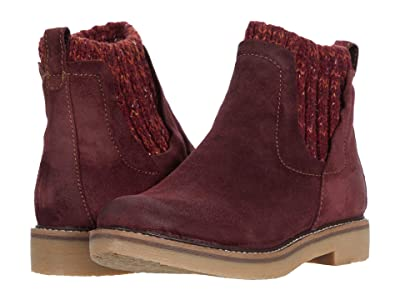 Comfortiva Rawnie (Mosto Red Oiled Cow Suede) Women