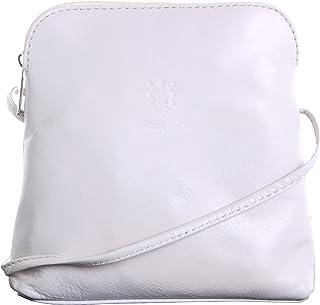 Primo Sacchi® Ladies Italian Soft Leather Hand Made Small/Micro Cross Body or Shoulder Bag Handbag. Includes Branded Protective Storage Bag.