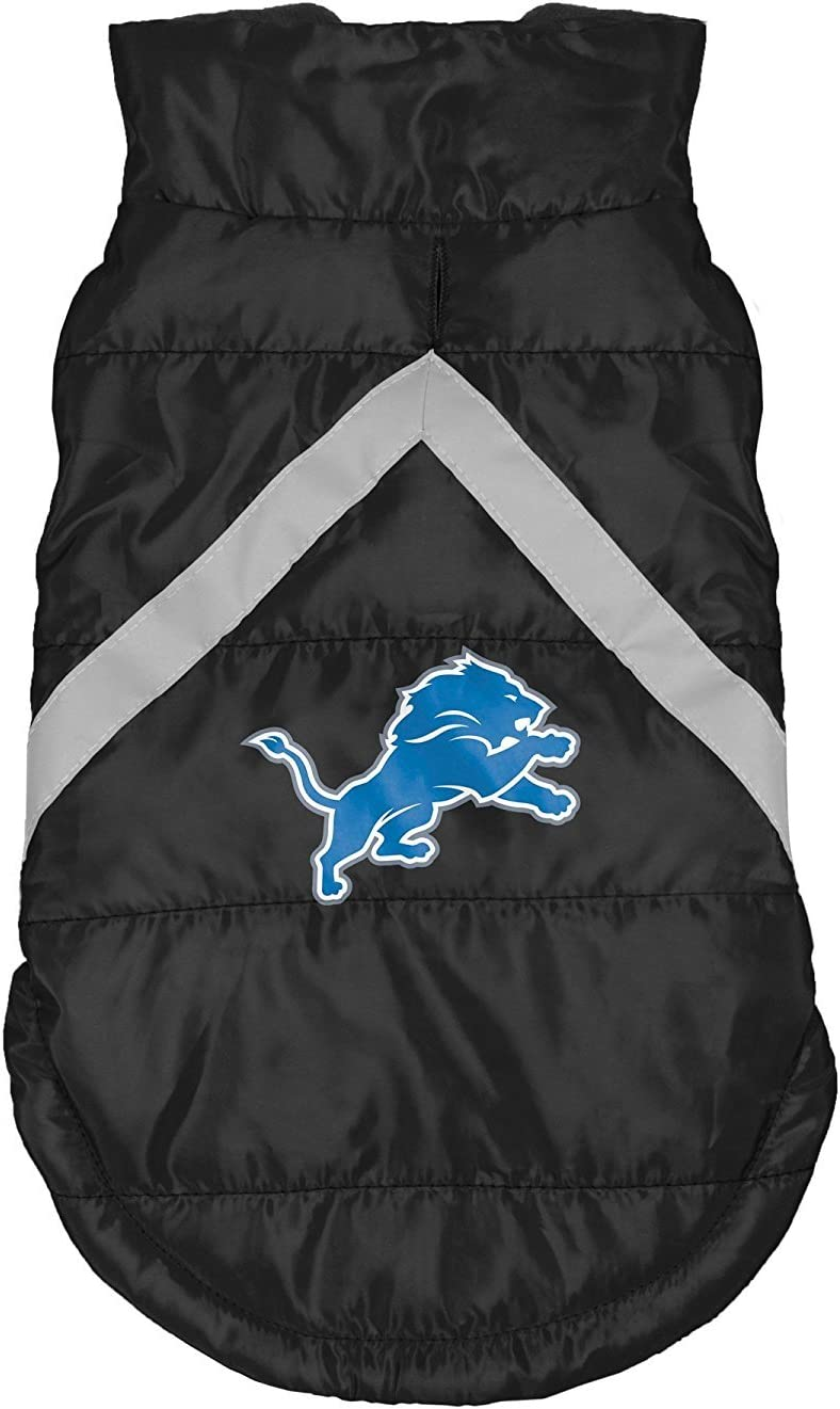 famous NFL Dog Puffer New Orleans Mall Vest