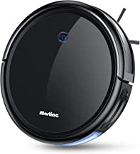 Robot Vacuum Cleaner, iMartine 1600Pa Strong Suction Robotic Vacuum Cleaner, Super-Thin Quiet, Up to 120mins Runtime/Automatic Self-Charging Robot Vacuum for Pet Hair Hard Floor to Medium-Pile Carpet