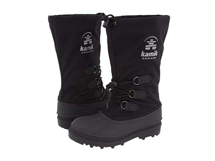 Kamik  Canuck (Black) Womens Cold Weather Boots