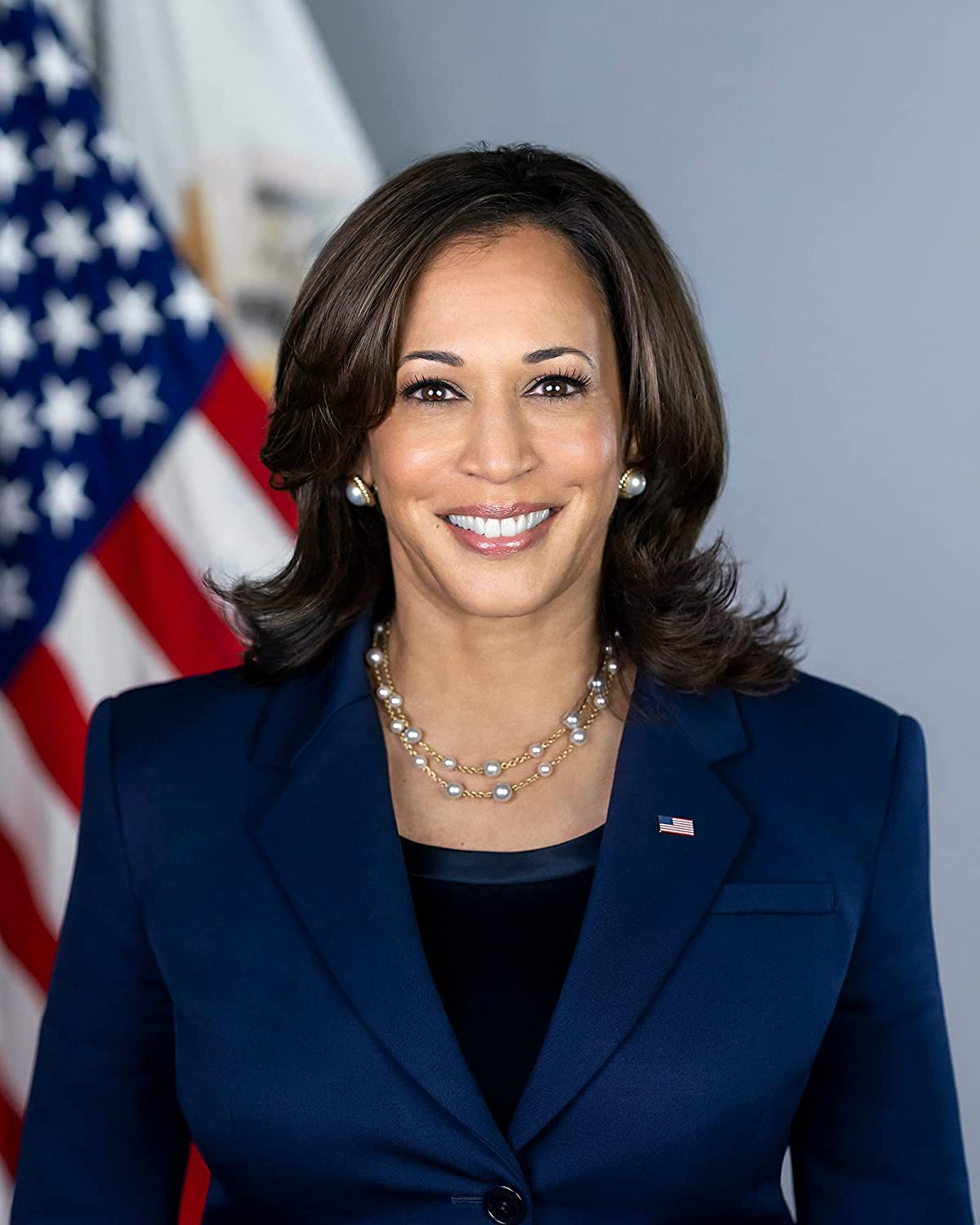 NEW before selling ☆ Official Portrait of Vice President H Kamala Harris Popular overseas Photograph -